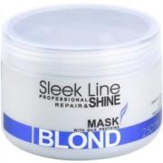 Stapiz Sleek Line Blond Maske für blonde und graue Haare 250 ml