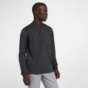 Nike Shield Herren-Golfjacke mit Halbreißverschluss - Schwarz