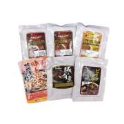 お肉屋さんのレトルトセット ~ カレー3種類 ホルモン 角煮 ビーフシチュー(6袋入り) ~
