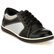 Kavacha Steel Toe Safety Shoe , S18 Casuals For Men(Black)
