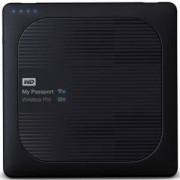 Твърд диск HDD 2TB USB 3.0 MyPassport Wireless Pro Black, WDBP2P0020BBK