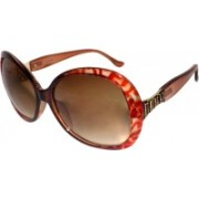 Forty Hands Over-sized Sunglasses(Brown)