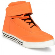Shoe Rider Men's Orange Synthetic Casual Shoes