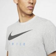 Nike T-shirt de futebol Nike Dri-FIT Inter Milan para homem - Cinzento