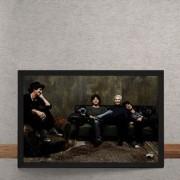 Quadro Decorativo Rolling Stones Sofa 25x35