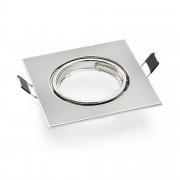 Рамка за SPOT лампа за вграждане [lux.pro]®, 87x87mm, Никел