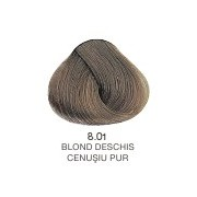 Vopsea Permanenta Evolution of the Color Alfaparf Milano - Blond Deschis Cenusiu Pur Nr 8.01