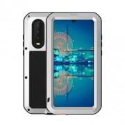 LOVE MEI Shockproof Dropproof Dustproof Case for Huawei P30 - Silver