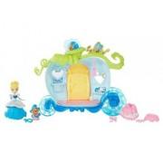 Disney Princess - Le Carrosse De Cendrillon (Mini Poupée 8 Cm, Accessoires)
