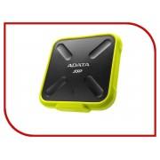 Жесткий диск A-Data SD700 256Gb USB 3.1 Yellow Color Box ASD700-256GU3-CYL