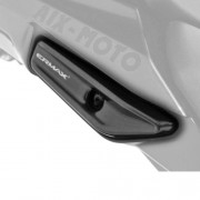 Grab Rail Covers Metallic Black for Kawasaki Ninja 1000 (11-16)