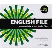 English File Intermediate Class Audio CD(Christina Latham-Koenig; Clive Oxenden; P. Selings)