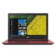 """Лаптоп Acer Aspire 3 A315-32-C8EQ (NX.GW5EX.026)(червен), четириядрен Gemini Lake Intel Celeron N4100 1.1/2.4 GHz, 15.6"""" (39.62 cm) HD Glare Display, (HDMI), 4GB DDR4, 1TB HDD, 1x USB 3.0, Linux, 2.10 kg"""