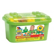 Molto - 35 Piece Blocks Box, Green