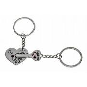 Kulcs a szívben dupla kulcstartó