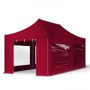 TOOLPORT Pop Up Gazebo 3x6m High Performance Polyester 350 g/m² red waterproof