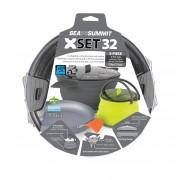 Sea To Summit X-Set: 32 3pc (X-Pot 2.8L, X-Pan 8'', X-Pot Kettle 1.3L) - - Pots & Casseroles