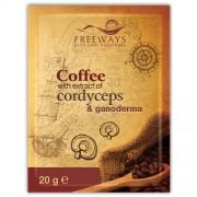 Cafea terapeutica cu extract de Cordyceps si Ganoderma (1 plic)
