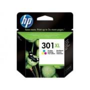 HP Cartucho de tinta original HP 301XL de alta capacidad Tri-color