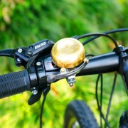 Fiets Retro Brass Bell Clear Voice (Golden)