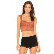 Free People Dream Away Lace Brami in Rust. - size S (also in XS)