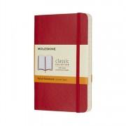 Moleskine Scarlet Red Pocket Ruled Notebook Soft, Paperback/***