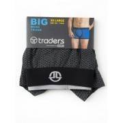 Traders Black Diamond Trunks - Black 3XL