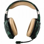 Геймърски слушалки TRUST GXT 322C Green camouflage, 20865