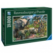 Ravensburger PUZZLE ANIMALE IN SALBATICIE, 18000 PIESE