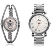 Arum Combo Analog Watches for Couple AW-010
