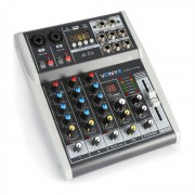 Vonyx VMM-K402 music mixer de 4 canales Bluetooth USB-Audio-Interface (Sky-172.585)