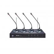 Statie cu microfoane wireless WG-2004A, modulatie FM