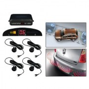 Black Reverse Car Parking Sensor System For All Cars