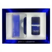 Paco Rabanne Ultraviolet Eau De Toilette Spray + Deodorant Stick Gift Set Men's Fragrance 458811