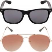 Aligatorr Aviator, Wayfarer Sunglasses(For Boys & Girls)
