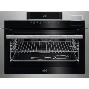 AEG SteamPro KSE792220M Ovens - Roestvrijstaal