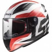 LS2 Casque LS2 FF353 Rapid Grid White / Red