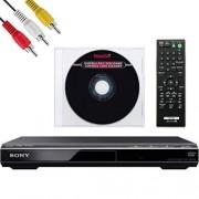 NEEGO Sony DVPSR210P Reproductor de DVD Cable AV Limpiador de Lentes