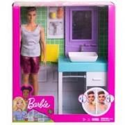 Кукла Barbie - Кукла Кен с мебели, налични 2 модела, 1710116