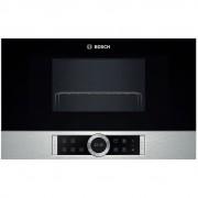 Bosch Bel634gs1 Forno A Microonde Da Incasso 900 Watt 21 Litri Colore Nero E Ino