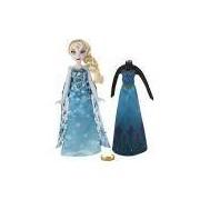 Boneca Frozen Vestidos Reais Elsa - Hasbro