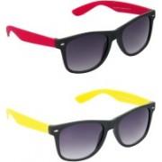 Hrinkar Wayfarer Sunglasses(Grey, Grey)