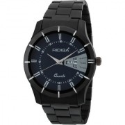 RIDIQA Black DIAL Analog Sports Watch for Men/Boys /Black Stainless Steel Casual Stylish -RD-186