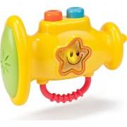 Muzica de învățământ galben jucărie trompeta