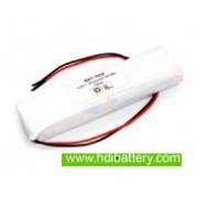 Pack de baterías 4,8V/2500mAh NI-MH