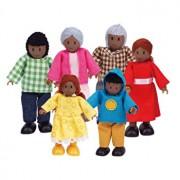 Set figurine - Familie Afro-Americana