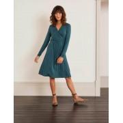 Boden Blau Layla Jerseykleid Damen Boden, 48 L, Green