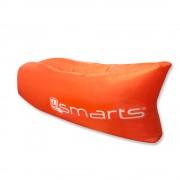 4smarts POWERNAP Outdoor Couch - надуваемо легло за къмпинг, басейн, плаж и т.н. (оранжев)