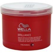 Wella Professionals Brilliance máscara para cabelo fino e colorido 500 ml
