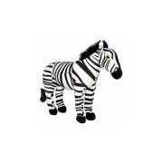 Merkloos Pluche zebra knuffel 27 cm